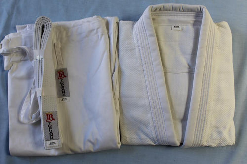 Top Rank Judo Gi Uniforms - White