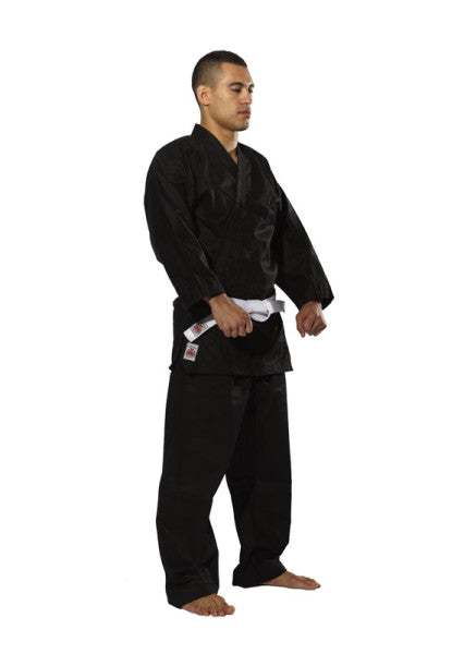 16oz Canvas Daito Karate Uniforms - Black