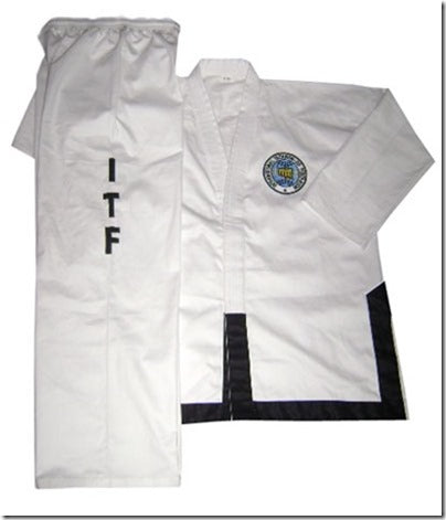 ITF Black Belt TaeKownDo Uniform