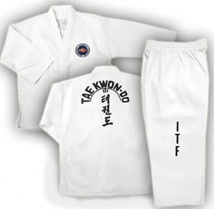 ITF TaeKown Do Uniform - White