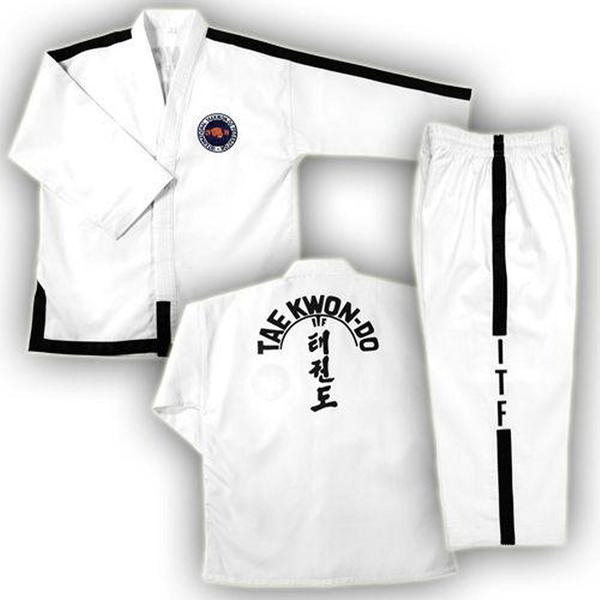 ITF INTERNATIONAL Black Belt TaeKownDo Uniform