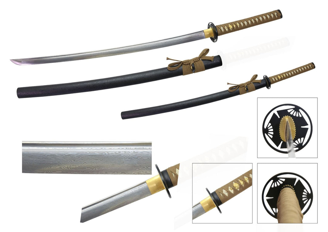 SW2009 Naotsune Hand Forged Folded Sword