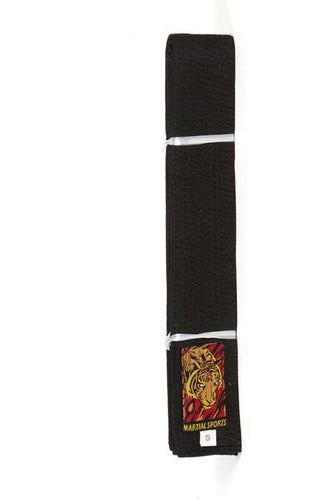 Deluxe Cotton Black Belt – 5cm Wide