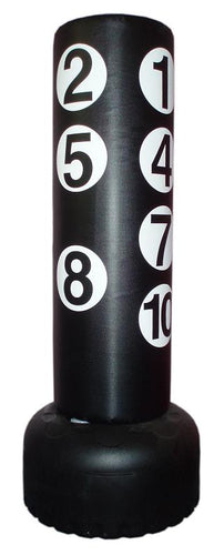 Free Standing Numbered Kicking Punching Bag - pick up only