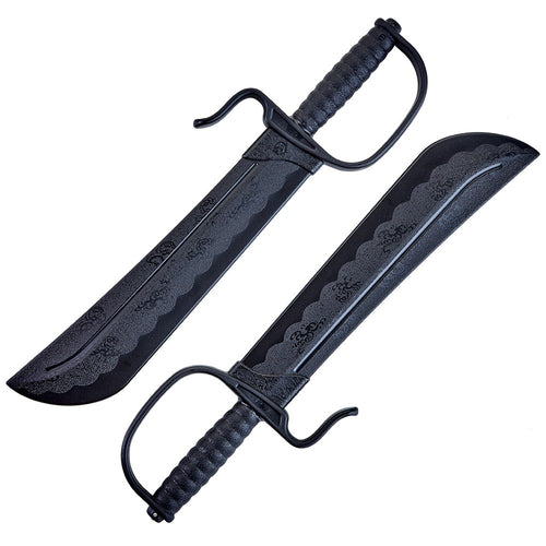 Butterfly Swords Plastic (Pair)
