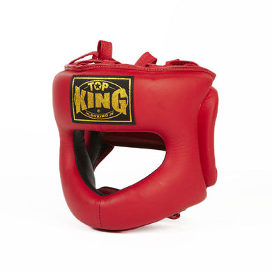 Top King Boxing Head/Chin/Nose Guard