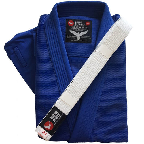 BJJ Uniform Blue