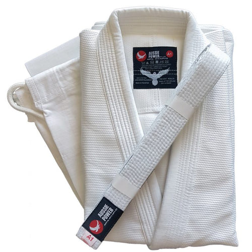 BJJ Uniform - White