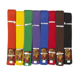 Double Wraps Colour Belts