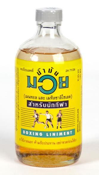 Thai Boxing Liniment - Oil