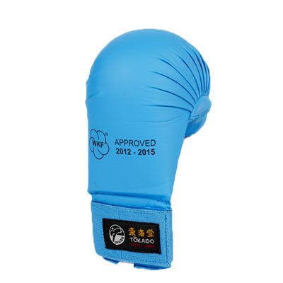 Tokaido Branded WKF Approved Tournament Gloves - Blue Colour
