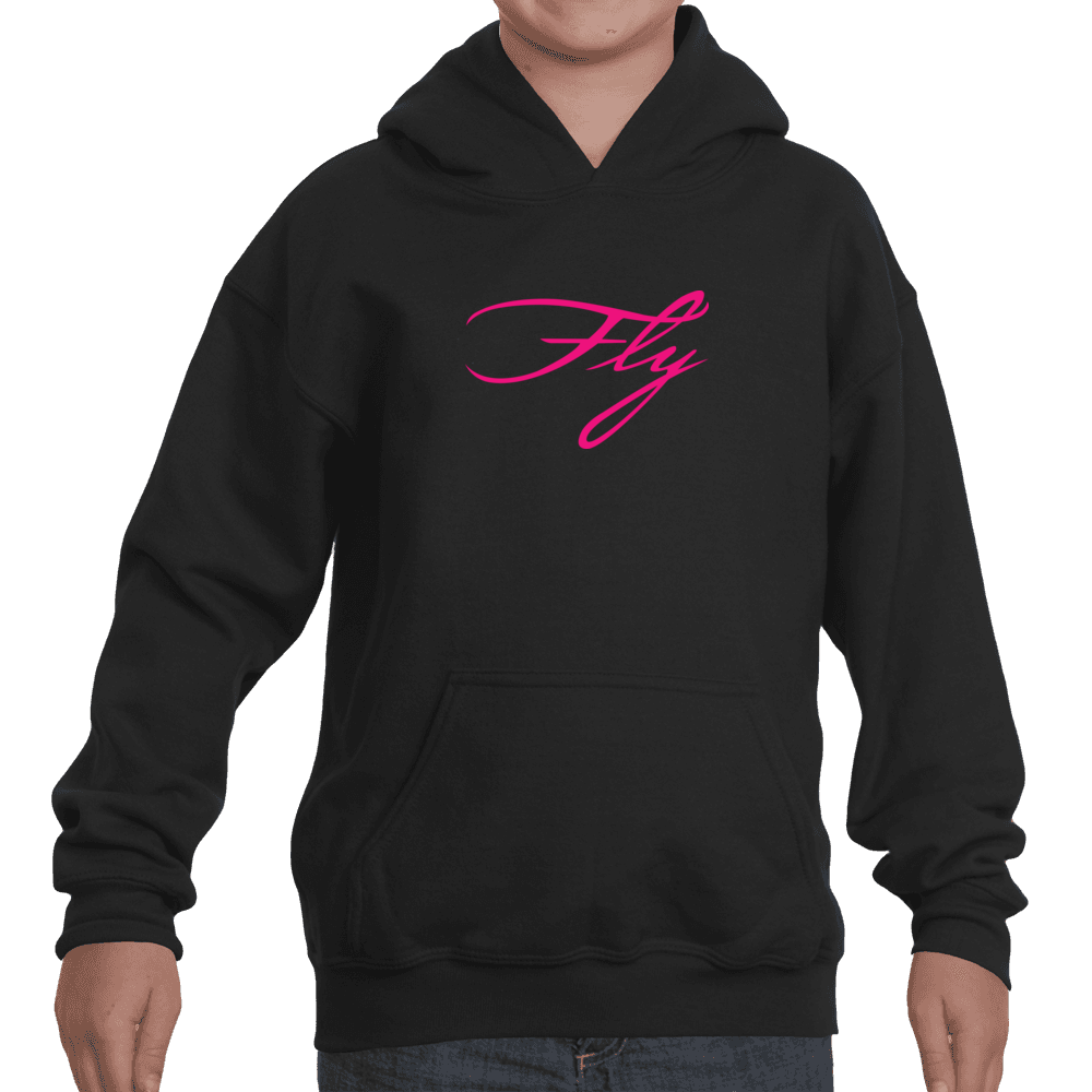 Youth Girls Fly Hooded Sweatshirt