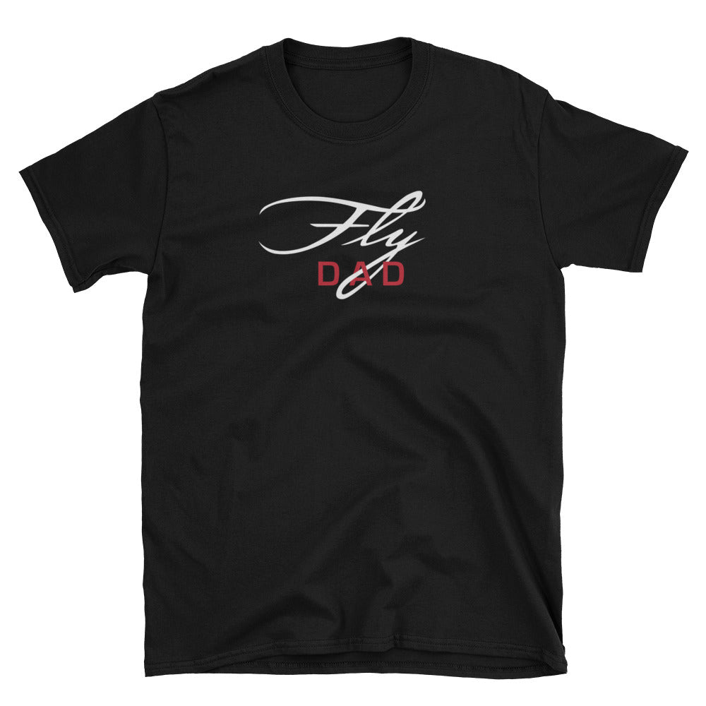 Fly Dad Basic Short-Sleeve Unisex T-Shirt