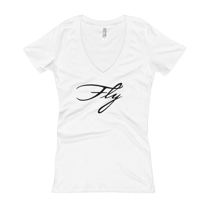 Fly Women's Premium V-Neck T-shirt