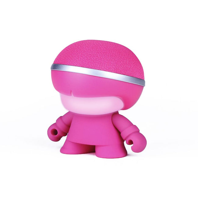 Xoopar - Pink Mini XBoy 3 Inch Bluetooth Speaker