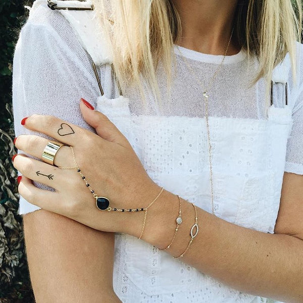 INKED by Dani - Black & White Pack - Temporary Tattoos