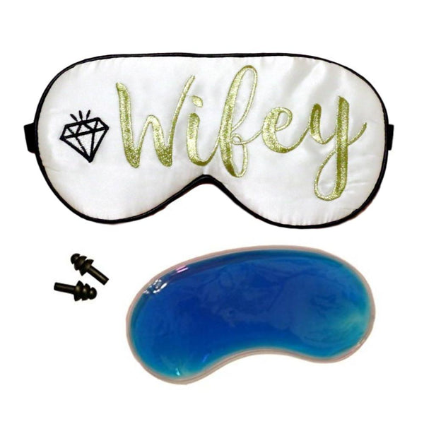 The Sleepy Cottage - Wifey Cooling Silk Sleep Mask