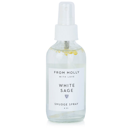 From Molly With Love - White Sage Smudge Spray 4 oz
