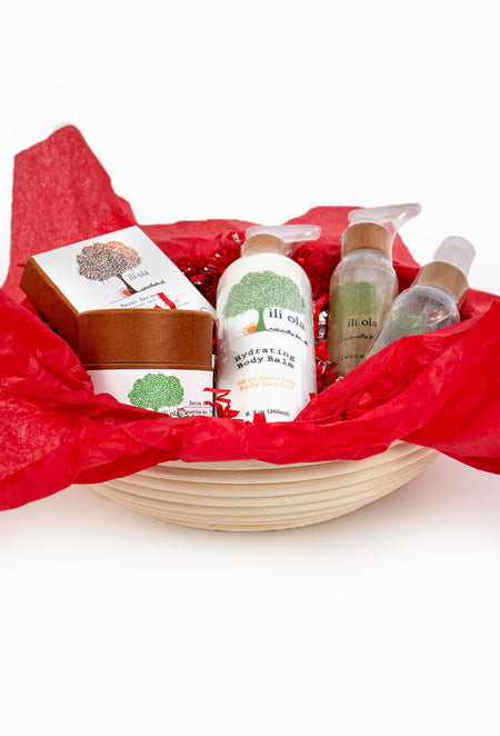 Detox Self Care Gift Basket