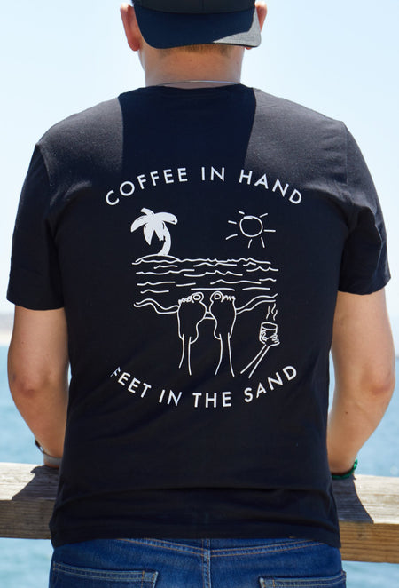 #Allgratefulandshit - 'Coffee In Hand Feet In The Sand'