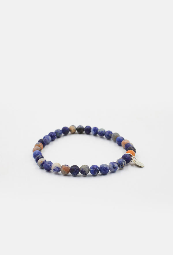 Orange Sodalite Robin Wrap Bracelet