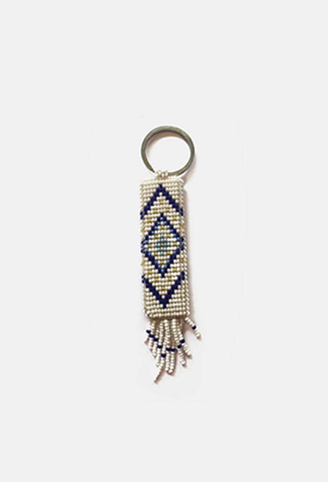 Rectangle Tribal Keychain
