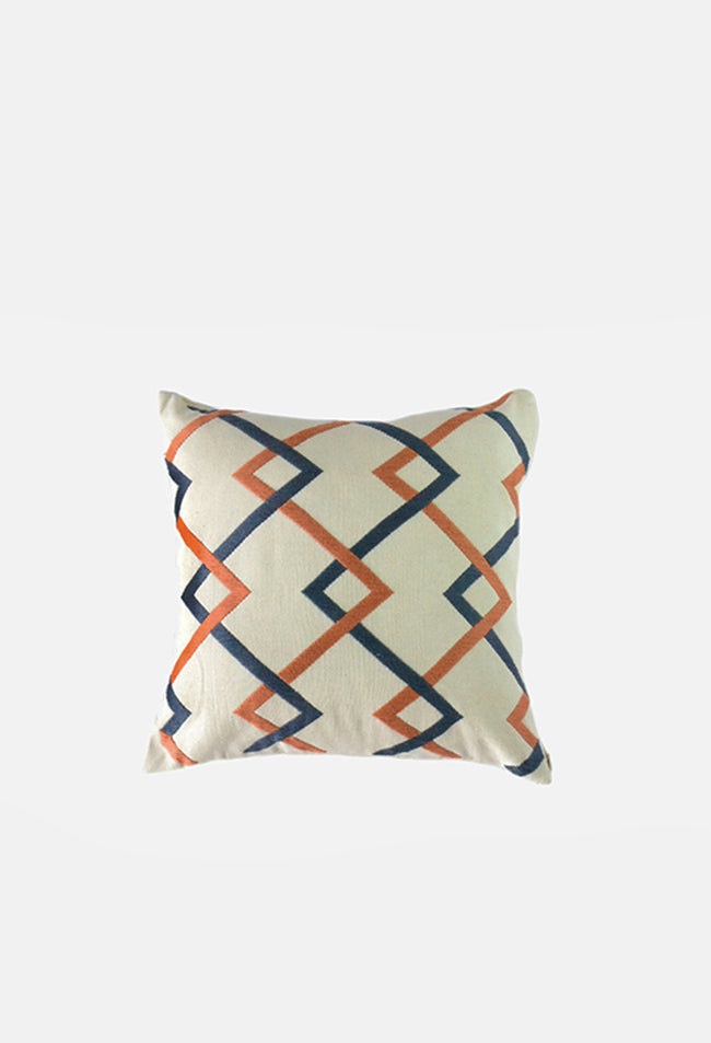 Zig Zag Diamonds Pillow