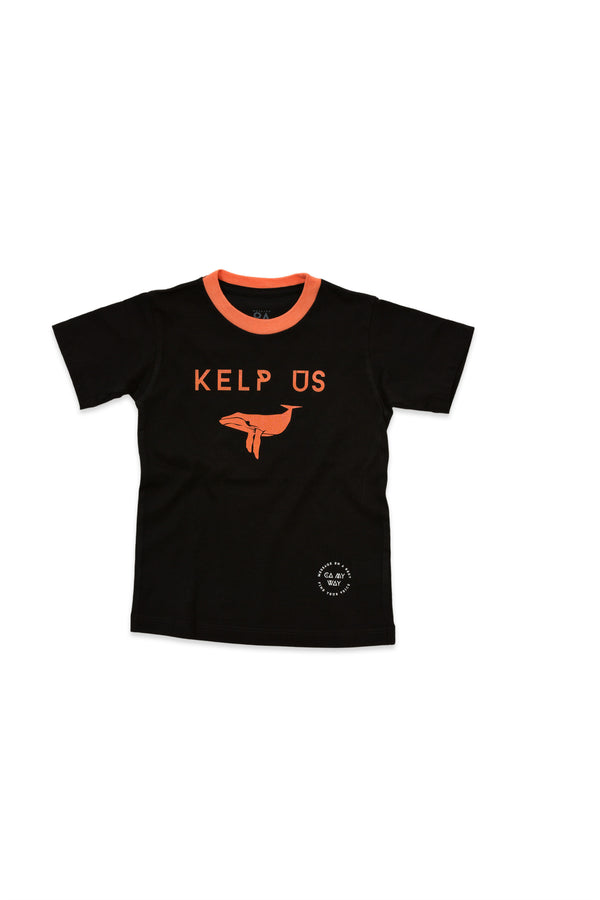 Kelp Us Turtle Kid's T-Shirt