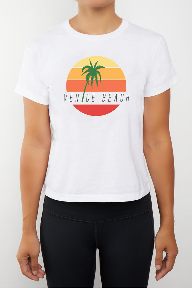 Venice Palm Tree T-Shirt