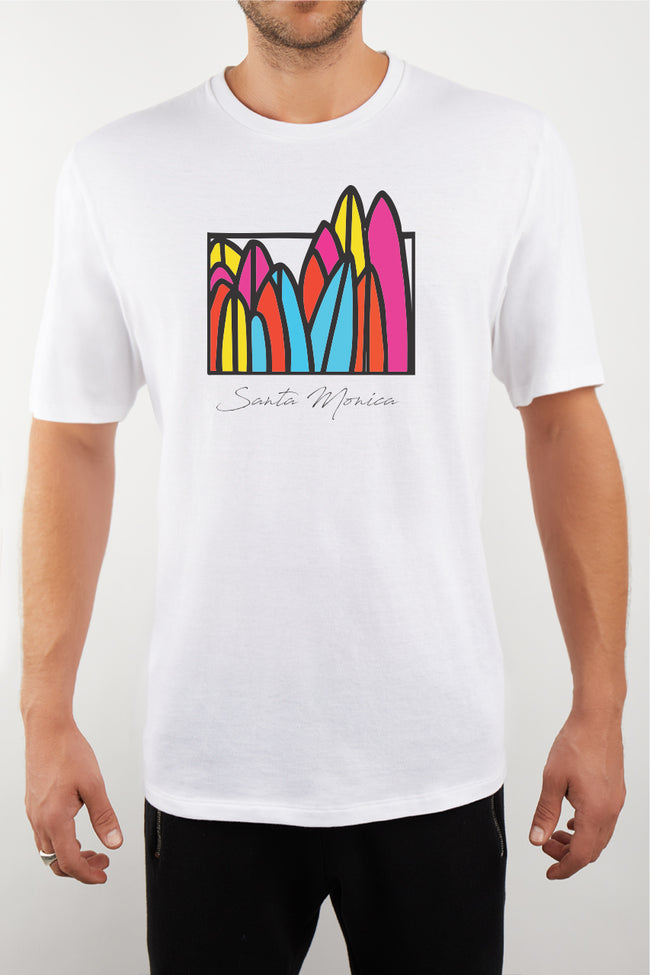 Surfboard Santa Monica T-Shirt