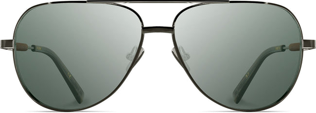 Redmond: Black Chrome Titanium Mahogany - G15 Sunglasses