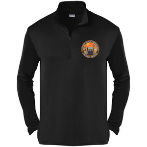 Copper Rock 4-Wheelers embroidered logo ST357 Sport-Tek Competitor 1/4-Zip Pullover