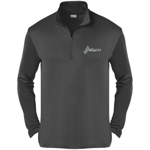 Jeep Alberta silver embroidered logo ST357 Sport-Tek Competitor 1/4-Zip Pullover