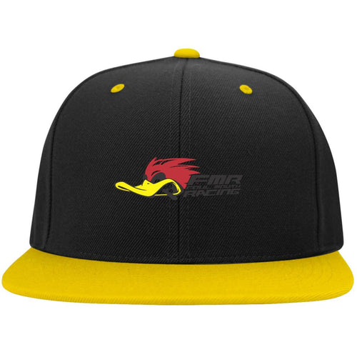 FOUL MOUTH RACING STC19 Sport-Tek Flat Bill High-Profile Snapback Hat