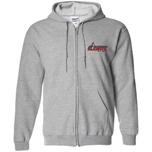 Elevate Off-Road embroidered logo G186 Gildan Zip Up Hooded Sweatshirt