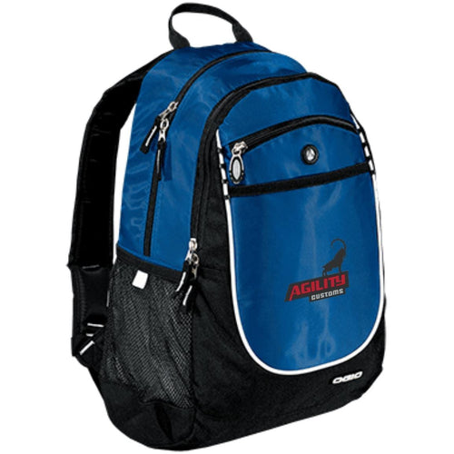 Agility Customs embroidered 711140 OGIO Rugged Bookbag