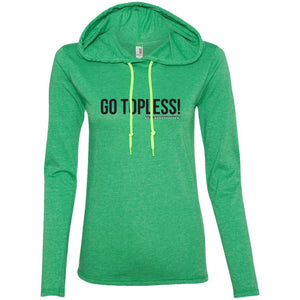 JeepDaddy Go Topless Ladies' Light Weight Hoodie