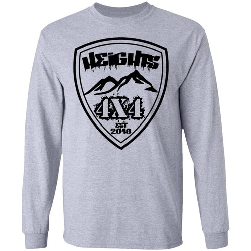 Heights 4x4 crest G240 Gildan LS Ultra Cotton T-Shirt