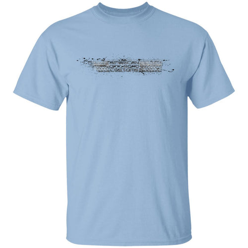 American Offroad Customs Horizontal 2-sided print G500 5.3 oz. T-Shirt