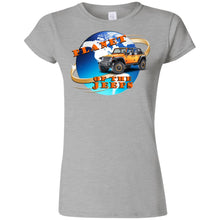 Planet of the Jeeps G640L Gildan Softstyle Ladies' FITTED T-Shirt