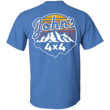John's 4x4 2-sided print G200 Gildan Ultra Cotton T-Shirt