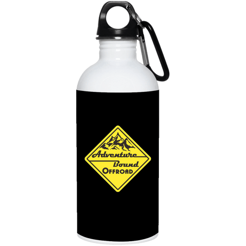 Adventure Bound Offroad 23663 20 oz. Stainless Steel Water Bottle