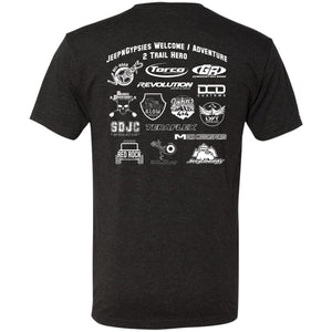 JeepNGypsies 2-sided print event T-Shirt NL6010 Men's Triblend