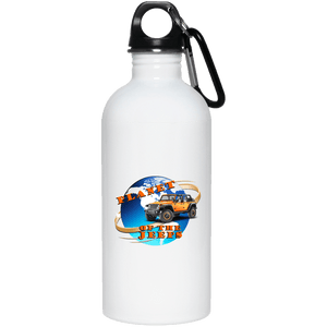 Planet of the Jeeps 23663 20 oz. Stainless Steel Water Bottle