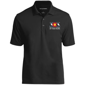 303 Off-road Racing embroidered logo K110 Port Authority Dry Zone UV Micro-Mesh Polo