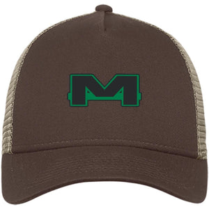 MOAB Motorsports embroidered NE205 New Era® Snapback Trucker Cap