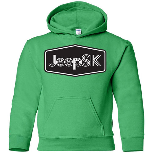 JEEP SK G185B Gildan Youth Pullover Hoodie