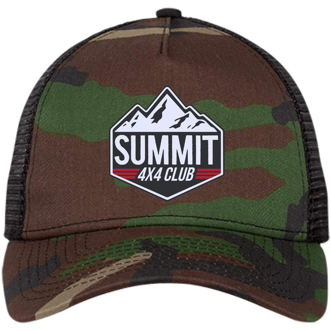Summit 4x4 embroidered logo NE205 New Era® Snapback Trucker Cap