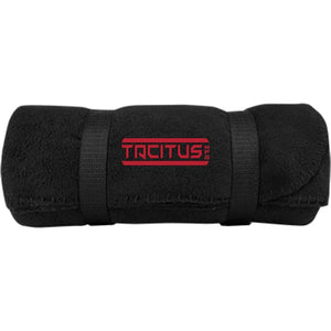 Tacitus MFG embroidered BP10 Port & Co. Fleece Blanket