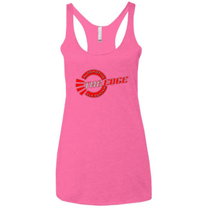 The Edge NL6733 Next Level Ladies' Triblend Racerback Tank